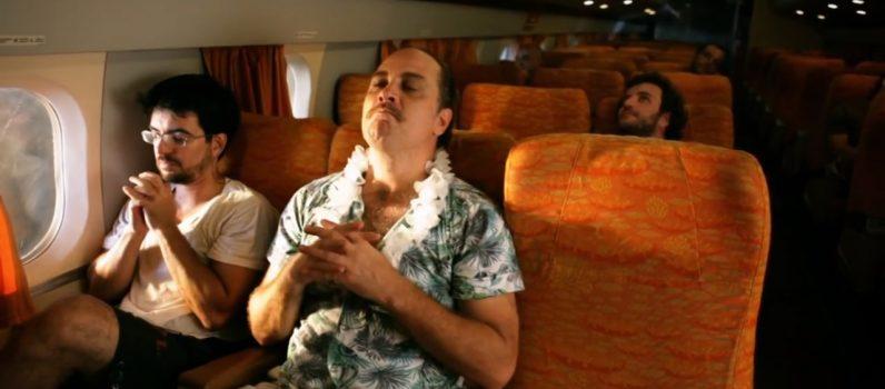 LARICA TOTAL – Comida no Avião