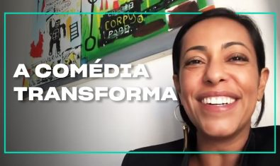 Samantha Schmütz fala sobre a força de transformação da comédia | Cinejornal